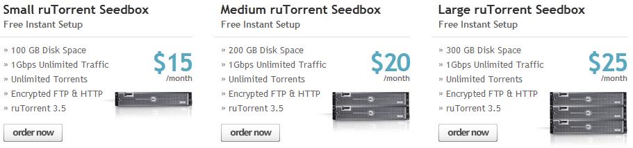 Cheap 1gbps seedbox