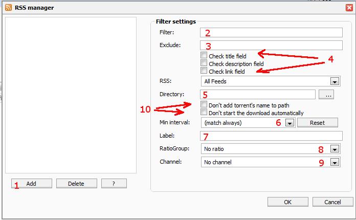 Setup and Use the RSS Plugin 11
